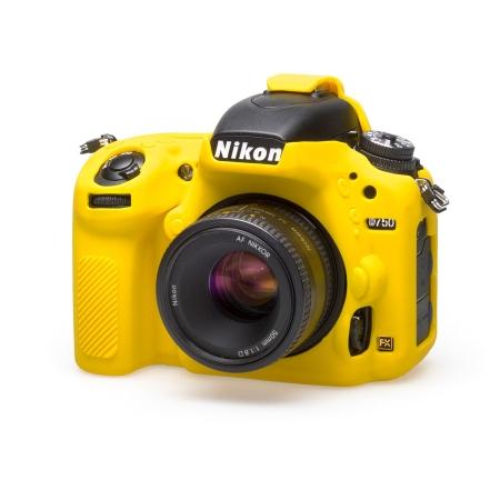 EasyCover Nikon D750 Carcasa Protectie Galben
