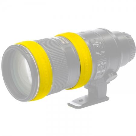 Easycover Lens Rings - Inele protectie obiectiv (galben)