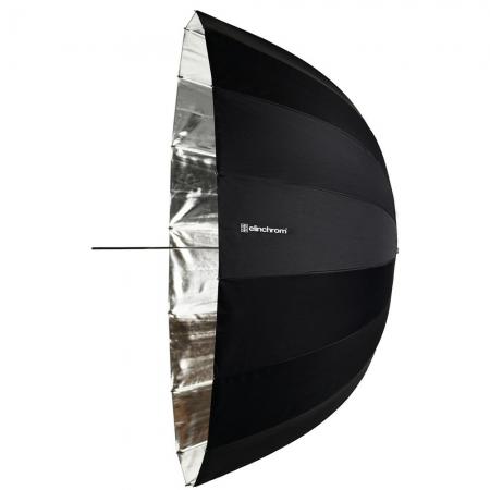 Elinchrom #26352 Deep Silver - Umbrela de reflexie, argintiu, 105 cm
