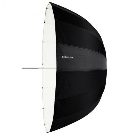 Elinchrom #26357 Deep White - Umbrela de reflexie, alb, 125 cm