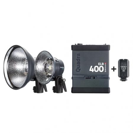 Elinchrom Quadra ELB 400 dual Pro To Go #10420.1