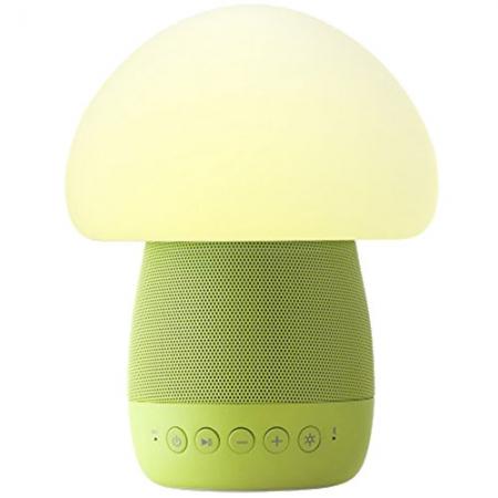 Emoi Mushroom - Lampa Smart Led cu Senzor De Noapte si Boxa Wireless