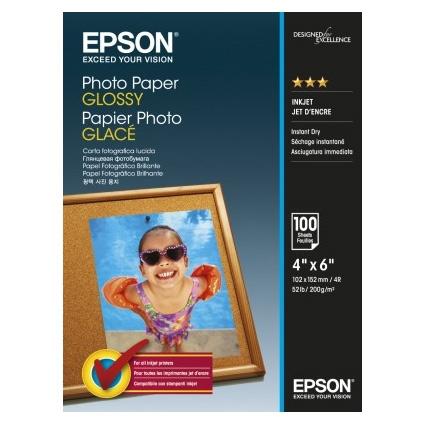 Epson Photo Paper Glossy C13S042548 10x15cm, 100 coli, 200g