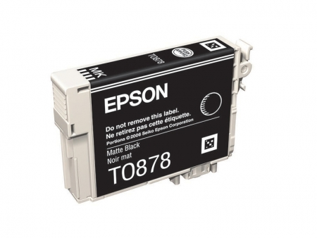 Epson R1900 - T0878 - Cartus Matte Black - RS12106983-1