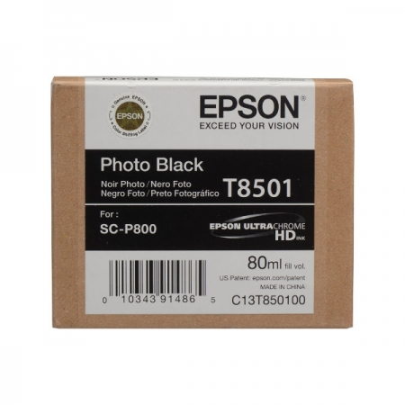 Epson T8501 - Cartus Photo Black pentru SC-P800