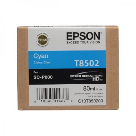Epson T8502 - Cartus Cyan pentru SC-P800