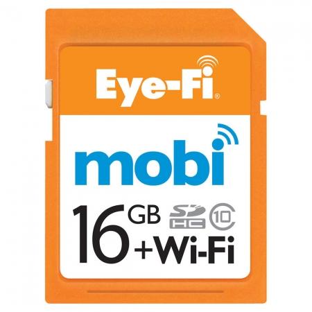 Eye-Fi Mobi SDHC 16GB Clasa 10 - card WiFi