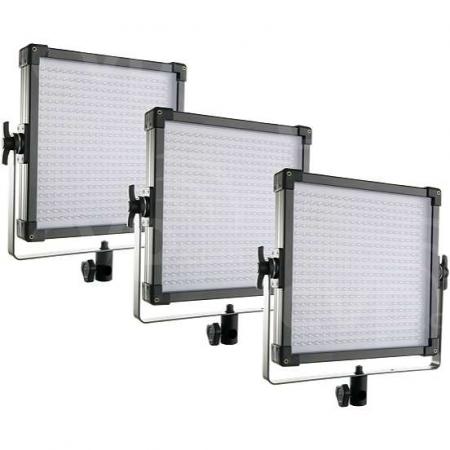 F&V K4000S Lumic Bi-Color 3 Light Kit/EU - set 3 lampi LED