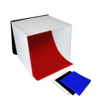 Fancier PB04 - Cub 60 x 60cm pliabil + fundaluri