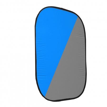 Fancier RE2010 fundal tip blenda (panza) 150x200cm Grey/Blue
