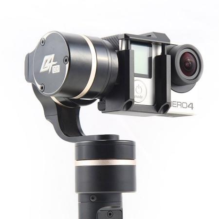 Feiyu Tech FY-G4QD - gimbal 3 axe pentru GoPro Hero 3+, Hero 4