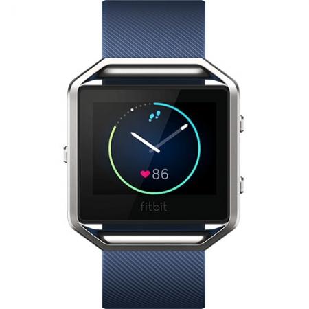 FitBit Blaze - Smartwatch Fitness Wireless, Marimea S - Albastru
