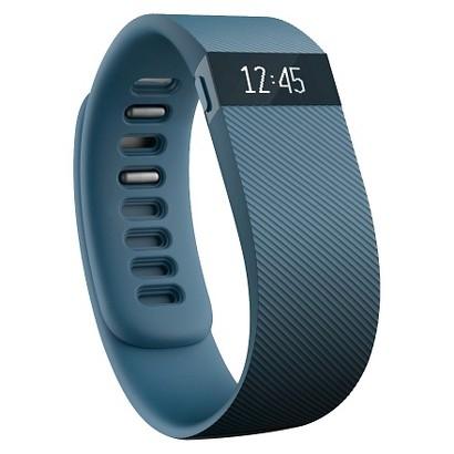 Fitbit Charge FB404 - bratara fitness marimea L - gri