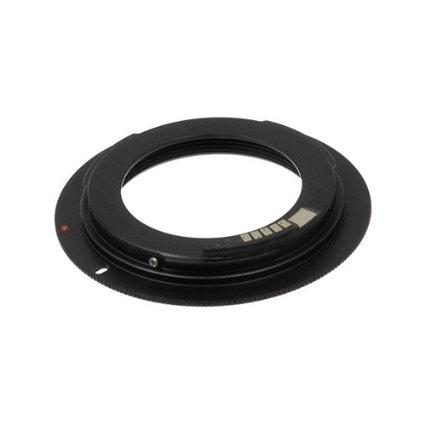 Fotodiox - Inel adaptor M42 la Canon EOS EF (Cu cip de confirmare focalizare)