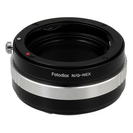 Fotodiox Mount Adaptor Lentile Nikon G la Camera Sony NEX E-Mount