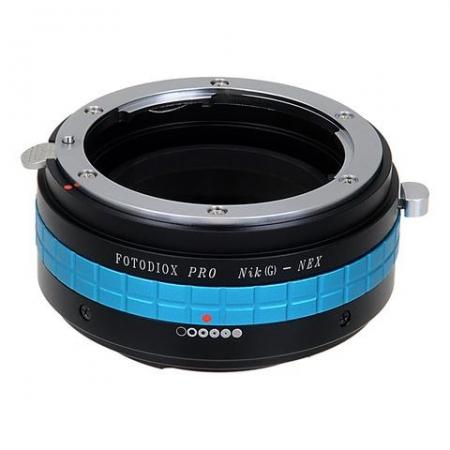 Fotodiox Pro Adapter NK(G)-NEX-P  - inel adaptor Nikon G - Sony E