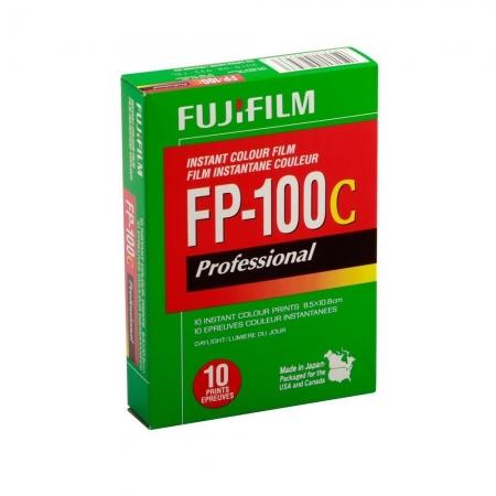 FujiFilm FP-100C Silk Professional - film instant color (10 coli - 8,5x10,8 cm)