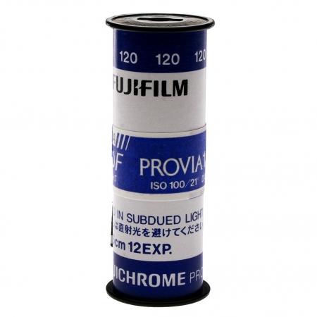 Fujifilm Fujichrome Provia 100F - film diapozitiv color lat (ISO 100, 120) 1 BUC