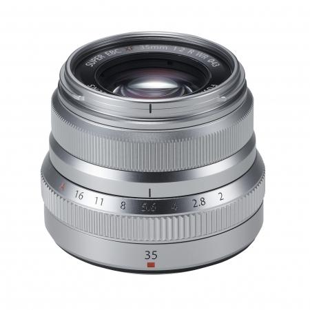 Fujifilm Fujinon XF 35mm F2 R WR argintiu