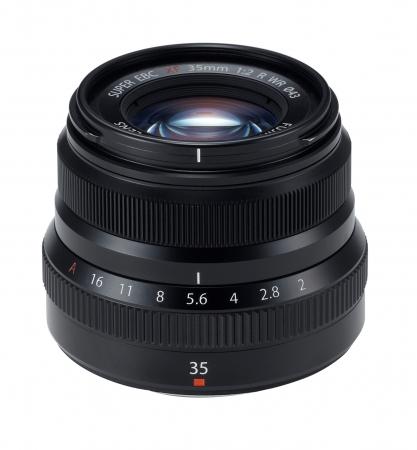 Fujifilm - Fujinon XF 35mm f/2 R WR - Negru