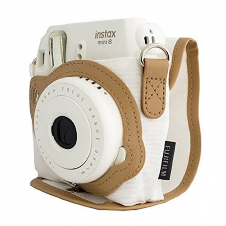 Fujifilm Instax Mini 8 Case - toc alb
