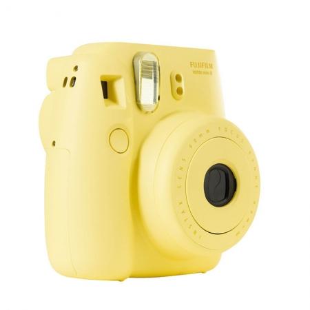 Fujifilm Instax Mini 8 galben - aparat foto instant