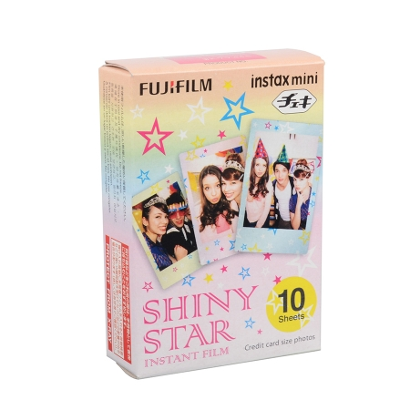 Fujifilm Instax Mini Pack Shiny Star - film instant