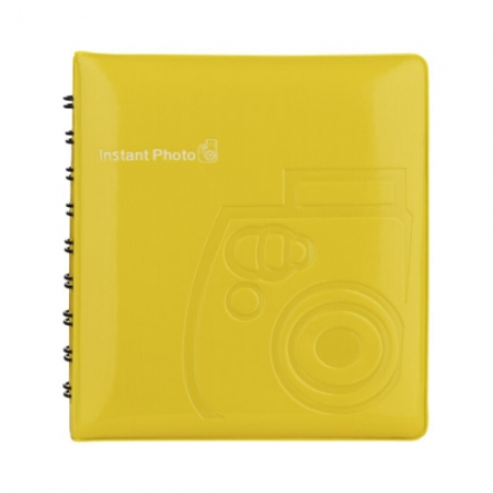 Fujifilm Instax Mini Photo Album galben