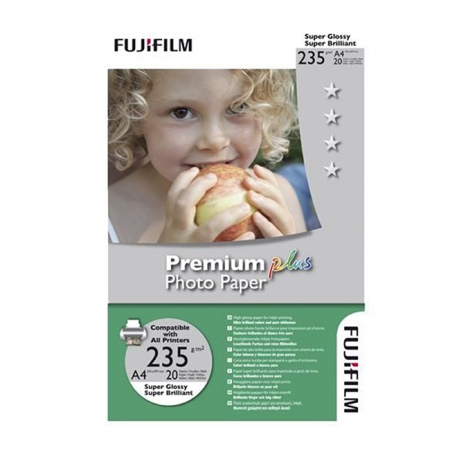 Fujifilm Premium Plus Photo Paper A4 20 coli