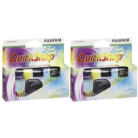 Fujifilm Quicksnap 1x2 Flash 27 - 2 camere unica folosinta 27 cadre