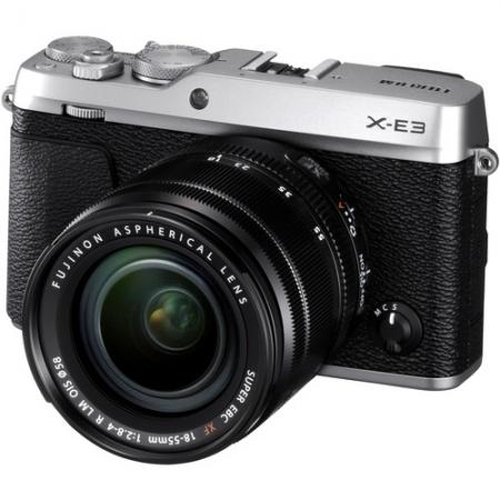 Fujifilm X-E3 Kit 18-55mm, Argintiu