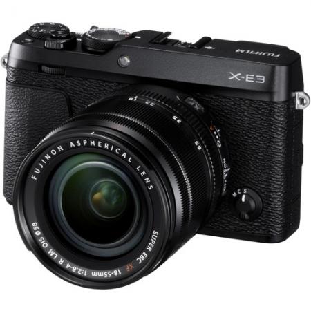 Fujifilm X-E3 Kit 18-55mm, Negru