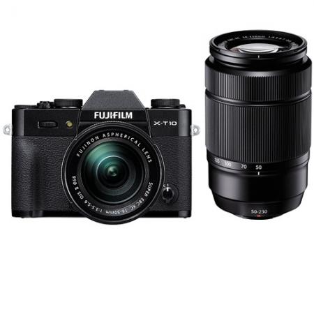 Fujifilm X-T10 Negru kit 16-50mm + 50-230mm