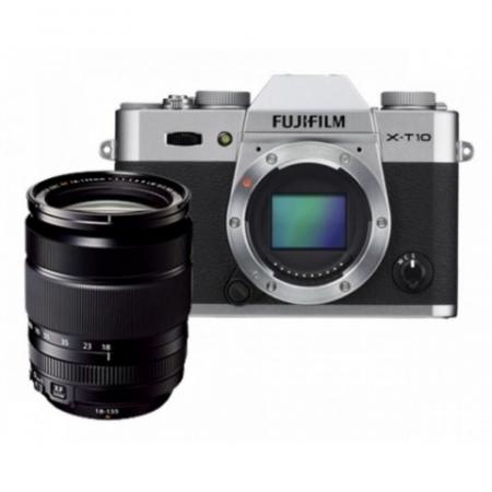 Fujifilm X-T10 + XF 18-135 Silver