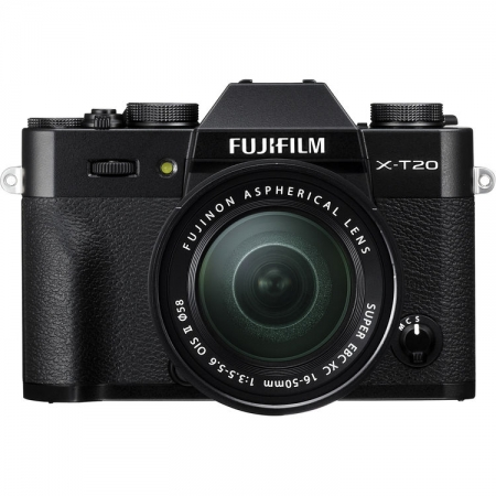 Fujifilm X-T20 kit 16-50mm, Negru