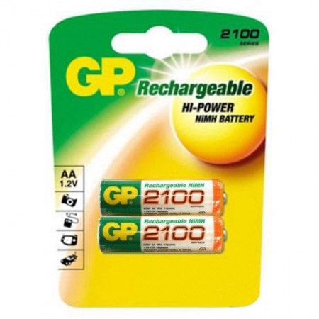 GP Rechargeable AA 2100 -  Acumulatori R6 NIMH 2100mAh