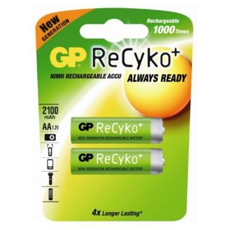 GP Recyko - Acumulator AA NiMH 2000mAh, 2 bucati