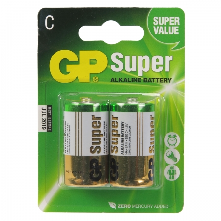 GP Super C - baterie alcalina R14 / C