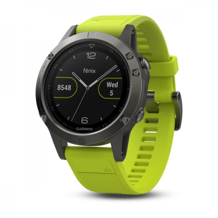 Garmin Fenix 5 - Smartwatch, GPS - Galben