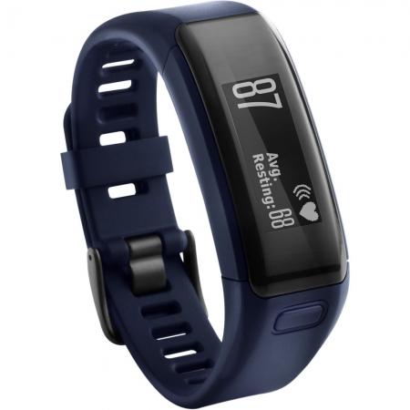 Garmin Vivosmart HR - bratara fitness cu monitor cardiac - albastru
