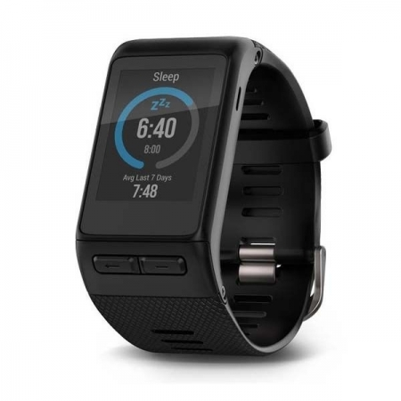 Garmin vivoactive HR, GPS, marime curea standard - smartwatch fitness cu GPS