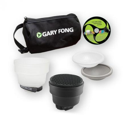Gary Fong Lightsphere Collapsible Portrait LSC-SM-P - kit difuzie pentru blituri externe