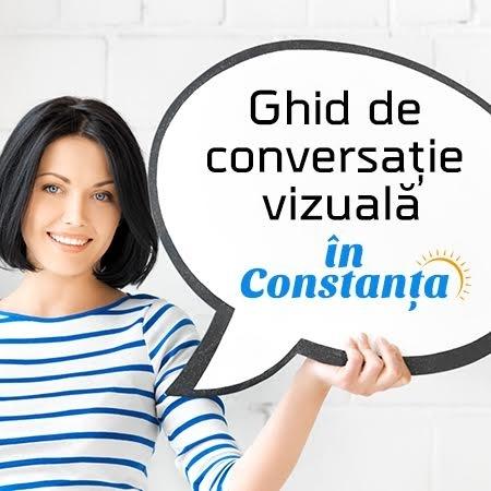 Ghid de conversatie vizuala in 4 module in Constanta -  Seria V: 10-13 august 2017