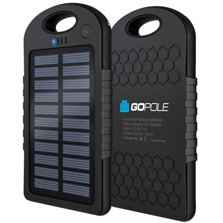GoPole Dual Charge - incarcator solar
