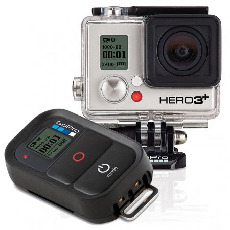 GoPro HERO3+ Black Edition - camera video de actiune Full HD 4K