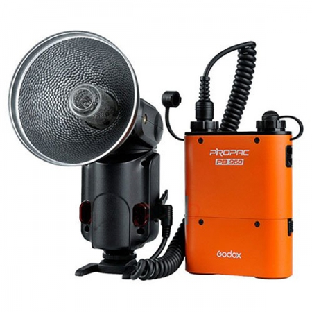 Godox AD180K High Power Speedlite and Battery Kit