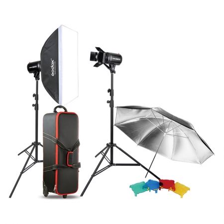 Godox E-320 studio flash kit