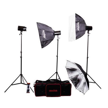 Godox Mini Pioneer 120 Kit - set complet 3 blituri
