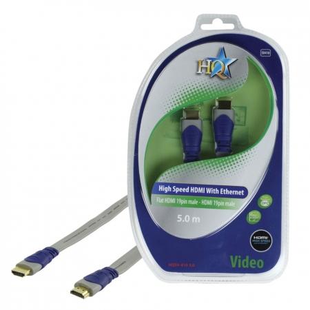 HQ HQSV-410-5.0 - cablu HDMI mare-mare, 5m