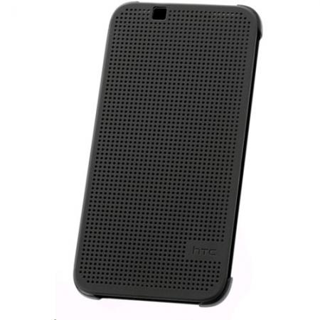 HTC (HC M130) - Husa agenda DOT View pentru Desire 510 - negru